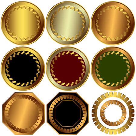 ruban noir: Prix de la collection or, argent et bronze