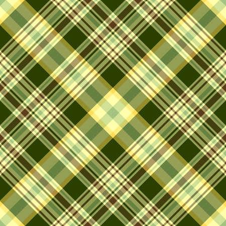 Seamless green and yellow diagonal pattern (vector) EPS 10 Vector