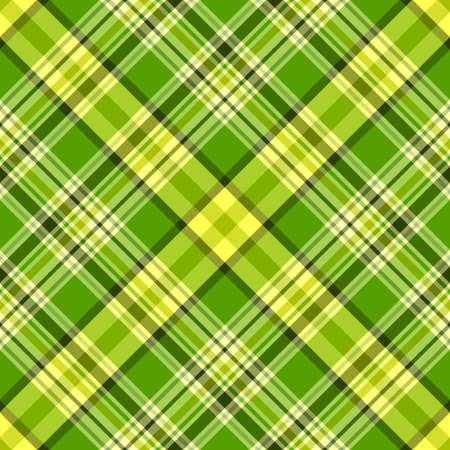 Seamless green and yellow diagonal pattern (vector, EPS 10) Vector