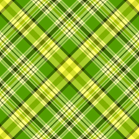 scattering: Seamless green and yellow diagonal pattern (vector, EPS 10)