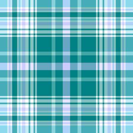 Seamless vivid blue pattern Vector