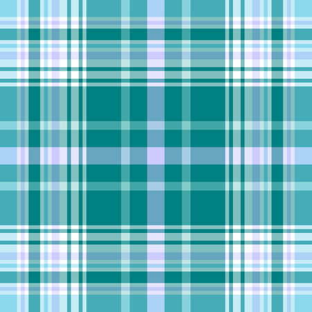 scottish: Seamless vivid blue pattern