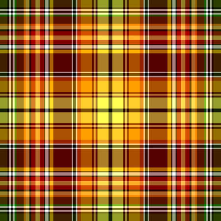 Seamless red, yellow and green pattern  Vector