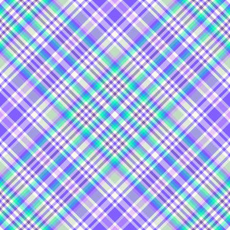Abstract seamless diagonal tartan blue-violet  pattern  Stock Vector - 6418173