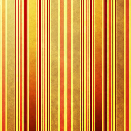 Old grunge yellow paper with colorful strips photo