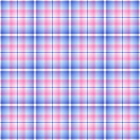 Abstract seamless tartan pink-blue  pattern Stock Vector - 6449929