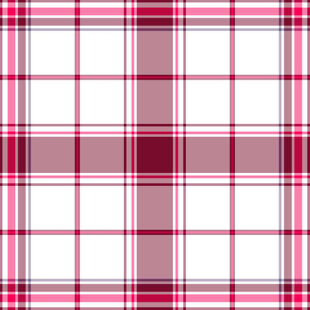 Abstract seamless tartan white-lilas  pattern Stock Vector - 6449927