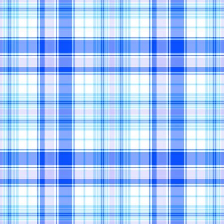 Seamless white and blue pattern Vector