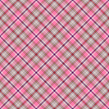 Pink and grey seamless pattern Stock Vector - 6490585