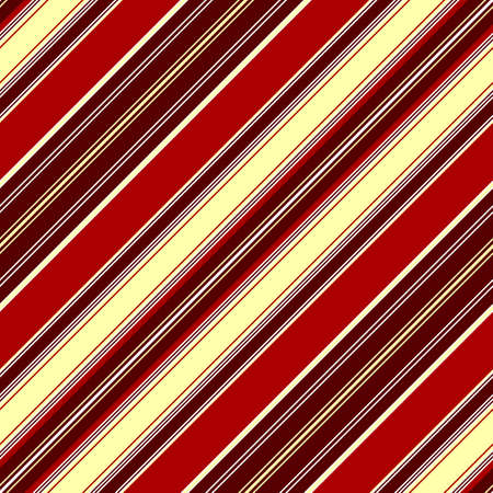Diagonal seamless red striped pattern  Vector