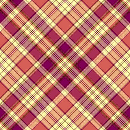 Seamless lilas-pink diagonal checkered pattern (vector EPS 10) Vector