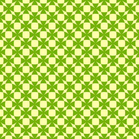 Seamless  green pattern with shamrocks (vector) Vector