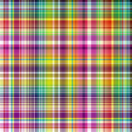 a pink cell: Seamless vivid rainbow checkered  pattern  Illustration