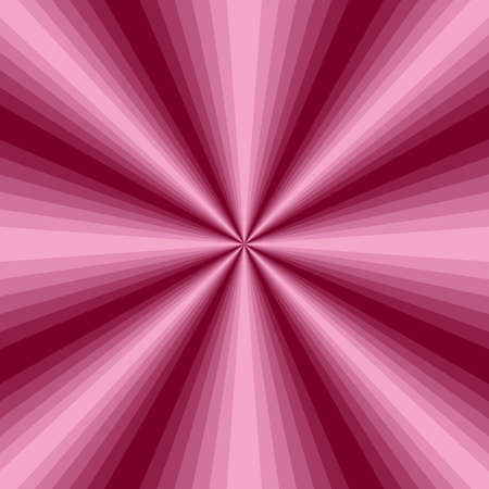 radiate: Abstract pink background with radiate rays Illustration