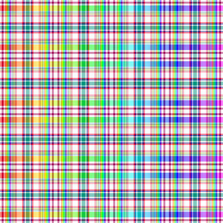 Abstract seamless rainbow checkered pattern (vector EPS 10) Vector