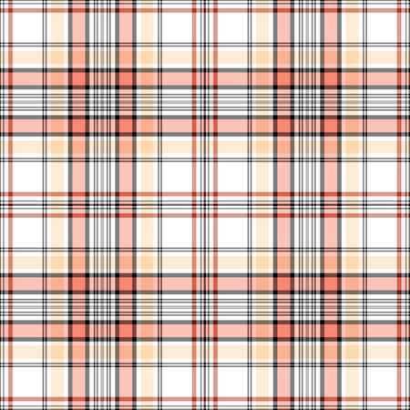 White, pink and black checkered seamless pattern (EPS 10 vector) Vector