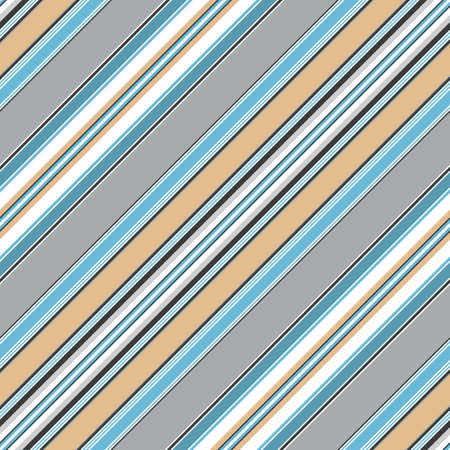 Seamless blue diagonal striped pattern  Stock Vector - 6829788