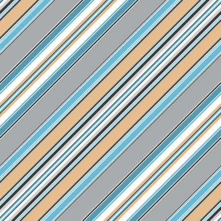 diagonal stripes:  Seamless blue diagonal striped pattern  Illustration