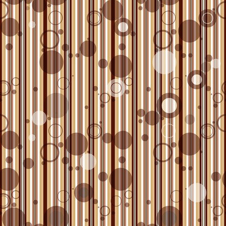 Seamless striped pattern with transparent balls Vector