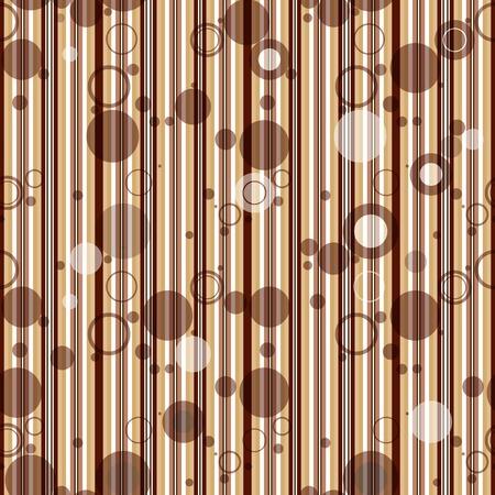 translucent: Seamless striped pattern with transparent balls Illustration