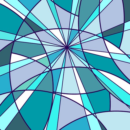 Mosaic violet and blue background Vector