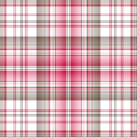 Seamless cross pastel pink-grey checkered pattern  Vector