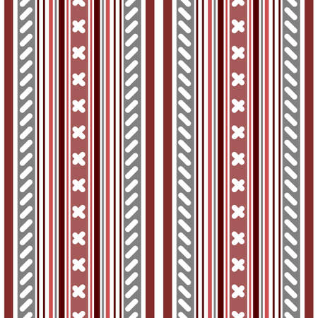Seamless pink-white-grey striped pattern with application  Vector