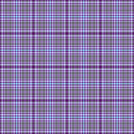 Seamless grey-blue-violet checkered pattern Vector