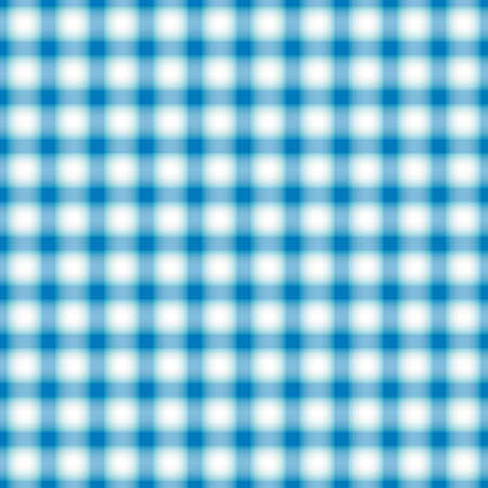 Seamless blue and white checkered pattern Vector