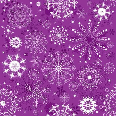 imposing: Ripetuta viola e bianco Natale sfondi