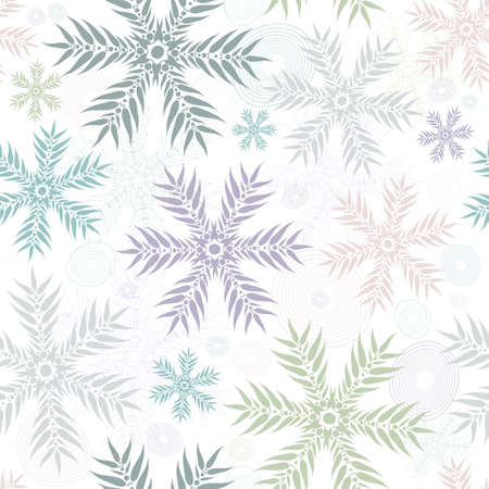 imposing: Pastello seamless natale bianco dolce motivo floreale