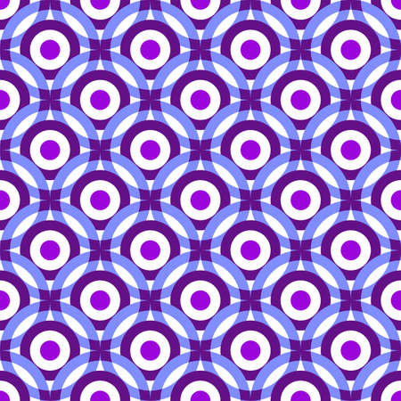 lilas: Violet and white-blue seamless pastel pattern  Illustration