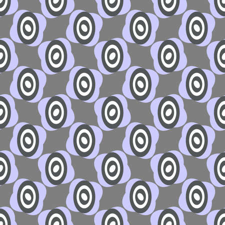 Grey and white  repeating pastel pattern (vector) Vector