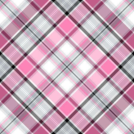 Seamless pink-gray-white cross gentle pattern (vector EPS 10) Stock Vector - 9166519