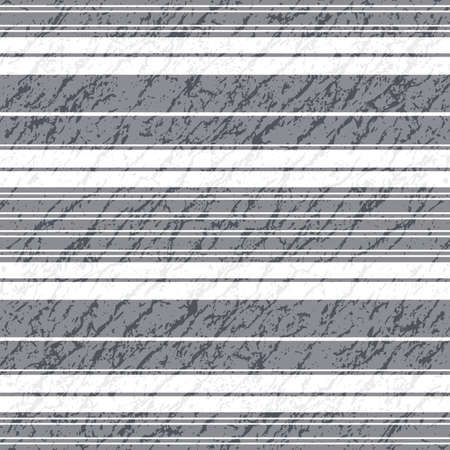 Seamless grey and white striped grunge pattern (vector EPS 10) Stock Vector - 9166526