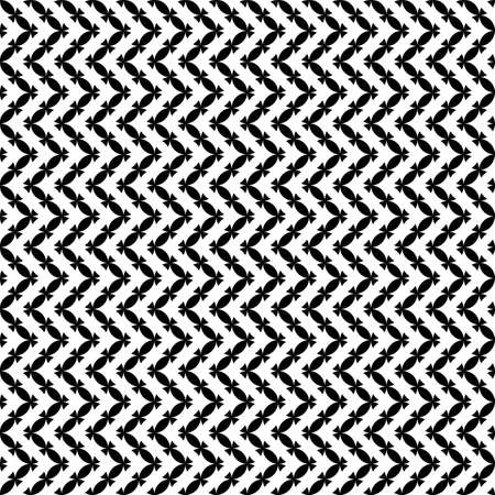 textiles: Seamless black and white geometric pattern