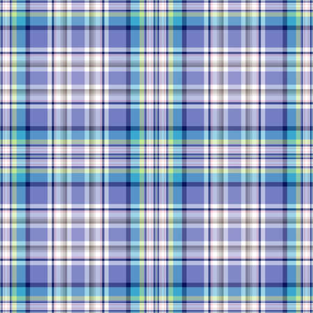 checkered pattern: Seamless blue-turquoise-white checkered pattern (vector EPS 10)