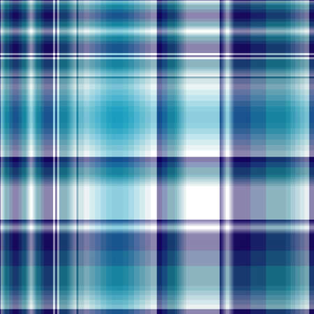 Repeating violet-blue-white checkered pattern  Vector