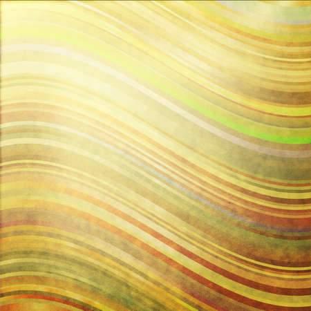 translucent: Old grunge paper with wave colorful strips