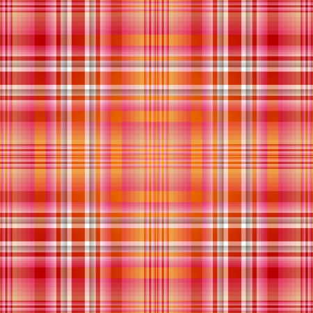 Seamless red-pink-orange checkered pattern (vector EPS 10) Vector