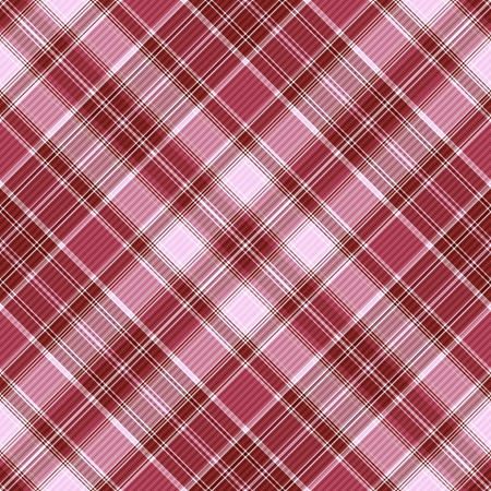 Seamless purple and white-pink cross checkered pattern with diagonal strips (vector EPS 10) Vector
