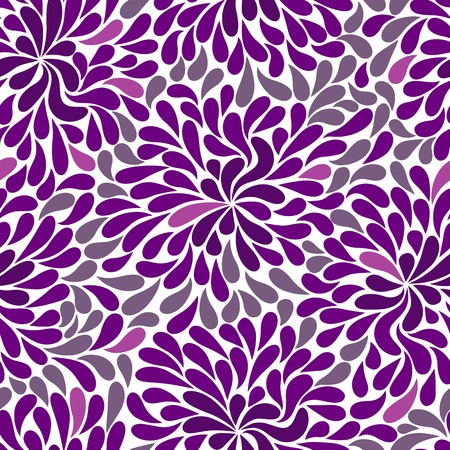 Repetitive violet and white and pink pattern