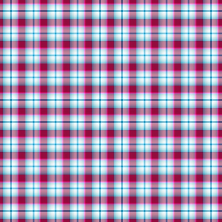 Seamless pink and blue and white checkered pattern  Vector