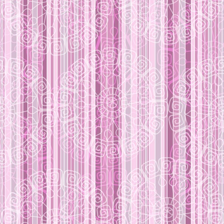Vintage pink striped seamless pattern with white transparent lacy circles  Stock Vector - 19163847