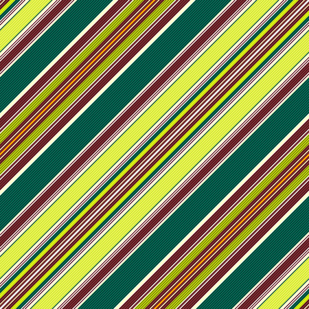 Seamless green-brown pattern with diagonal translucent thin strips   Vector