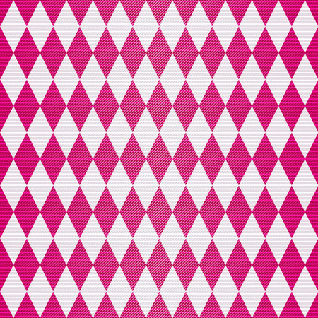 transverse: Seamless geometric pattern with shiny burgundy rhombuses and translucent transverse stripes