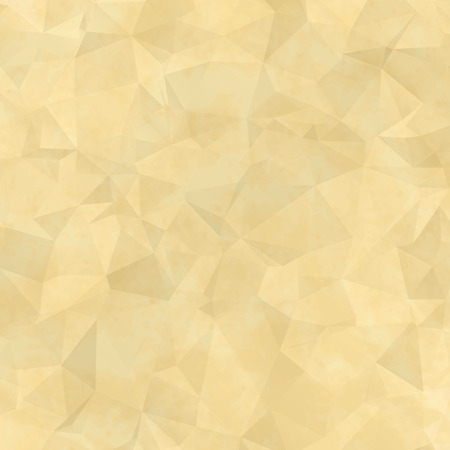 spotty: Old spotty grunge paper with translucent triangles. Illustration