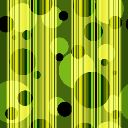 brawn: Seamless striped pattern with translucent balls (vector eps 10)