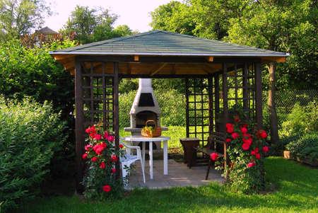 summer - house  Stock Photo