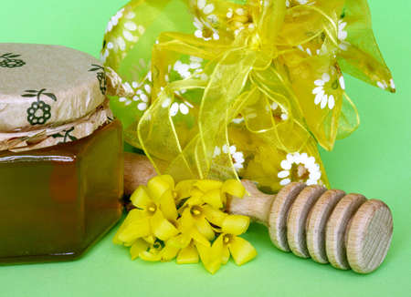 Fresh honey Stock Photo - 927845